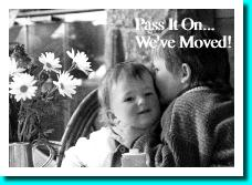 pass it on.. We've Moved